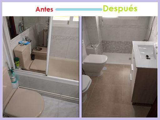 Cambio bañera por ducha Alcalá de Henares,platos de ducha