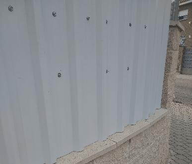 muro bloques hormigón
